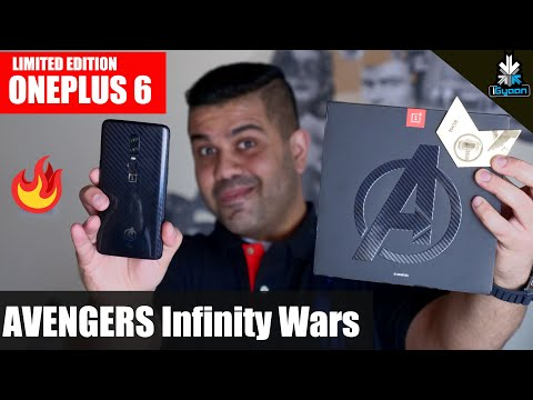 OnePlus 6 Avengers Infinity War Edition Unboxing And Hands On First look - iGyaan