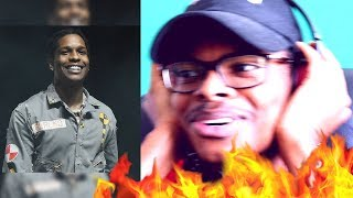 THIS IS TRIPPY AF! | A$AP Rocky - A$AP Forever Official Video ft  Moby | Reaction