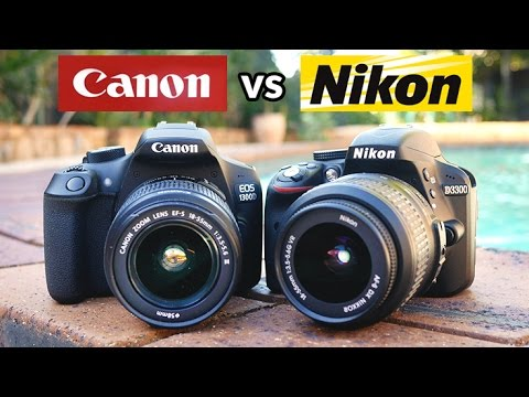 Canon T6 vs Nikon D3300 - Which is the best beginner DSLR?