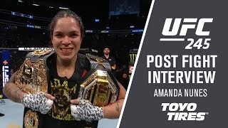 "Download UFC 245: Amanda Nunes - ""We Always have A Second Plan"" Mp3 and Videos"