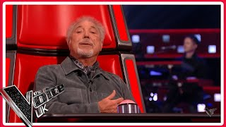 SIR TOM JONES SINGS 'WITH THESE HANDS' IN BLIND AUDITIONS ! NAILS IT!🤩  The VOICE UK 2021