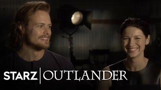 Outlander | Sam & Caitriona Answer More Questions | STARZ