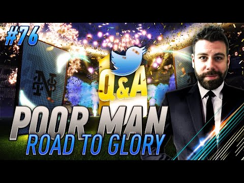 Q&A PACK OPENING!! AM I GOING ON ANOTHER TV SHOW?!? - Poor Man RTG #76 - FIFA 18 Ultimate Team