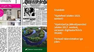 DIGAR Eesti artiklid - mis see on?