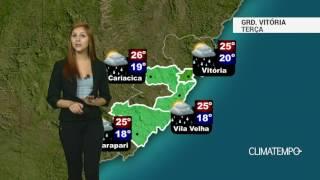 Previsão Grande Vitória - Tempo instável