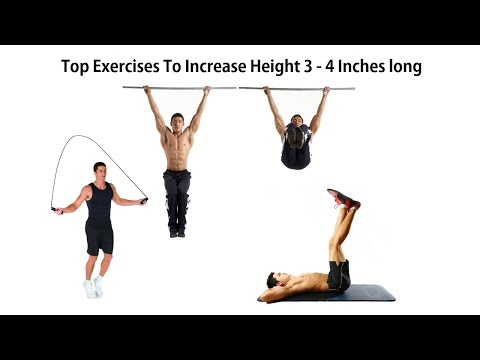 Top selected Exercises to increase your body weight & height easily