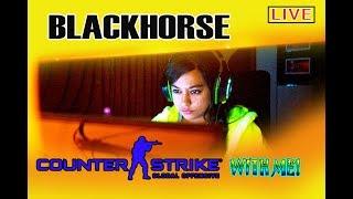 🔴CS:GO LIVE STREAM WITH 🗡 BLACKHORSE! 🔫 let's play some csgo together! #21