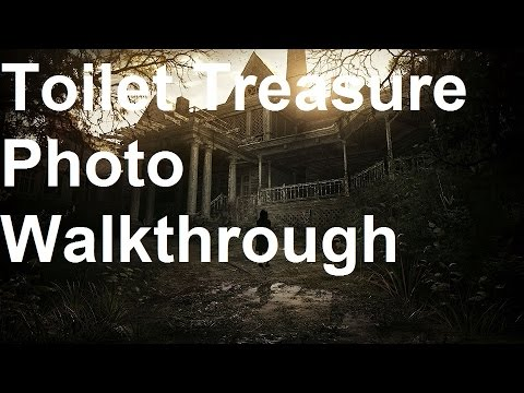 Resident Evil 7 - Toilet Treasure Photo Walkthrough