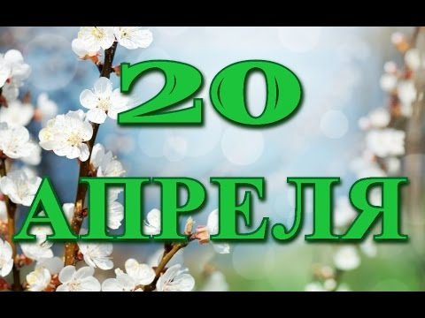 20 апреля Международный день секретаря и другие праздники...