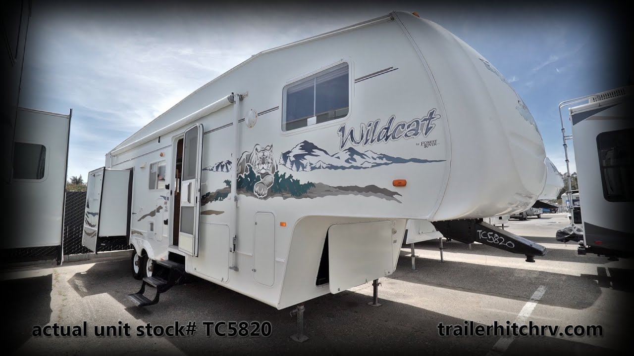Used 2006 Forest River RV Wildcat 30LSWB TC5820