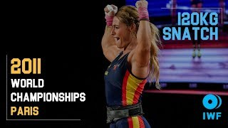 Lydia Valentin | 120kg Snatch 2011 Worlds