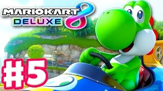 Yoshi! Egg Cup! Online 150cc Tournament! - Mario Kart 8 Deluxe - Gameplay Walkthrough Part 5