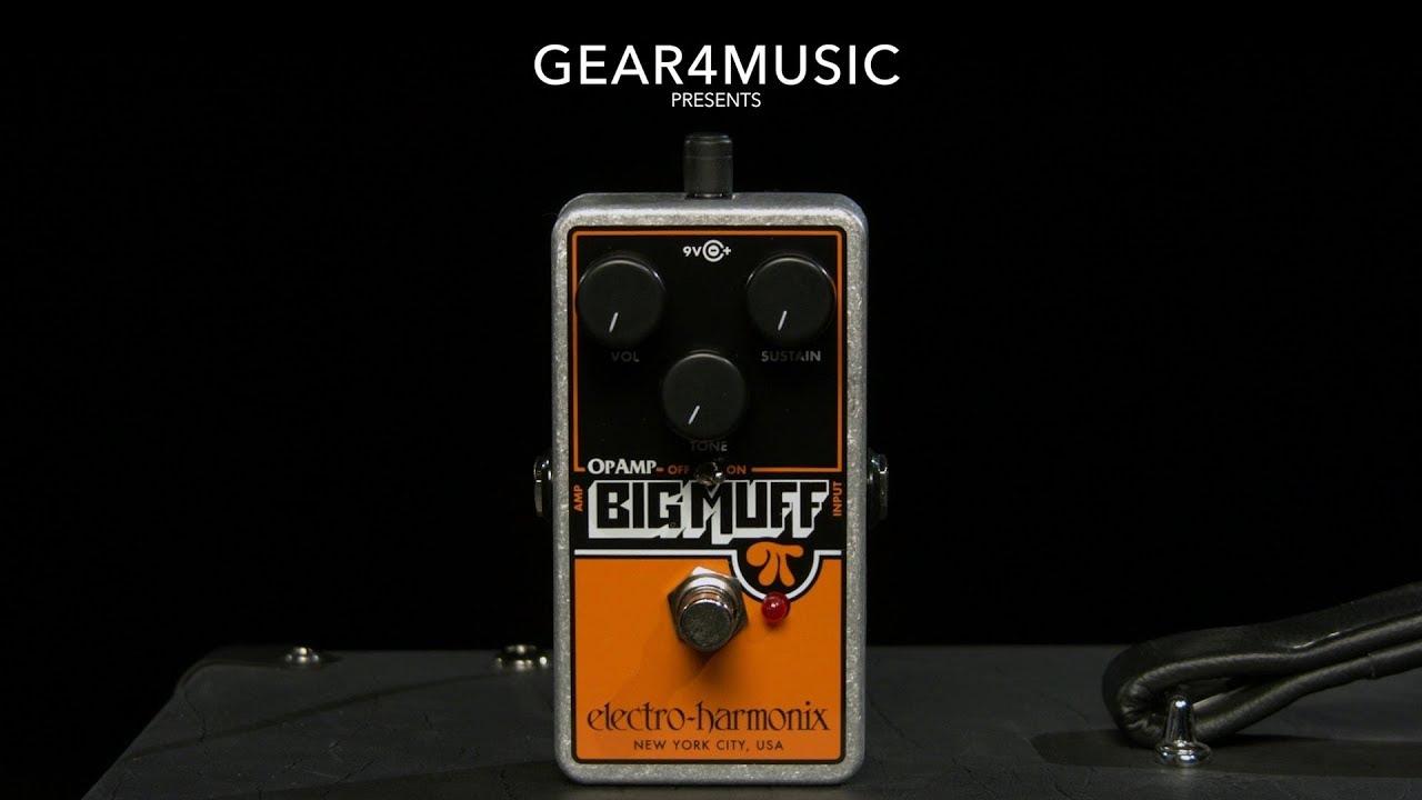 Electro Harmonix OP AMP BIG MUFF Distortion//Sustainer Fuzz Guitar Effect Pedal