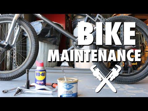 Bike maintenance - BMX FOR BEGINNERS