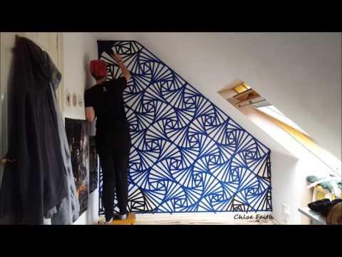 Geometric Wall Art Paint - Chloe Faith