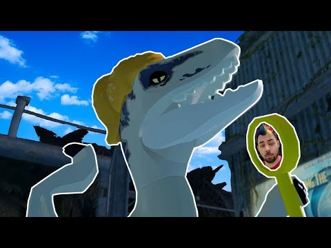 Lego Jurassic World | Lego Dinosaurs Get Loose! | Lego Jurassic World HD Gameplay - Part 9