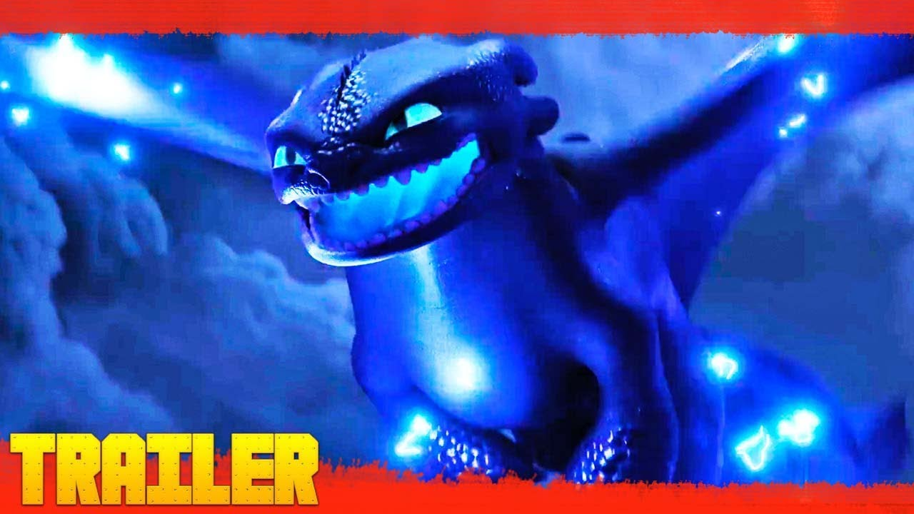Como entrenar a tu dragon 3 | pelismega