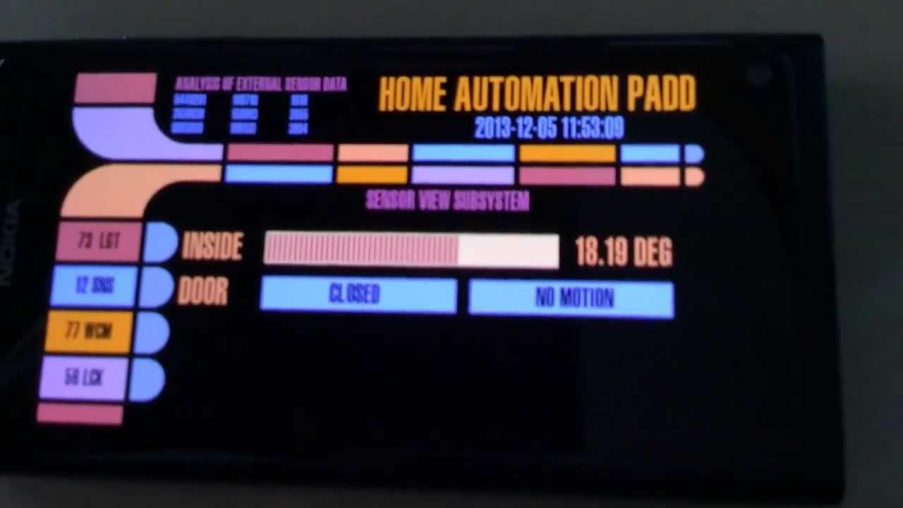 Evolution of the Homebrew Star Trek LCARS Interface for #RaspberryPi