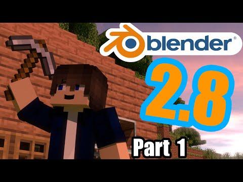 Minecraft Animation Tutorial For Blender 2.8 Episode 1: The Essentials
