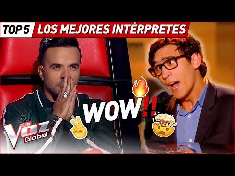 ¿INTERPRETARON sus temas MEJOR que los ARTISTAS ORIGINALES? en La Voz
