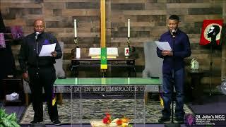 11/22/2020 Sunday Morning Worship at St. John's MCC