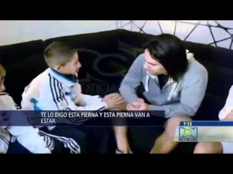 Niño hace llorar a Radamel Falcao (football player) | Vídeo completo