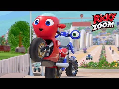 Ricky Zoom Full Episodes   Meet Ricky In Flat-Out Awesome!   Kids Videos