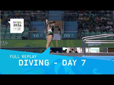 Diving - Day 7 Women's 10m Qualification   | Full Replay | Nanjing Youth Olympic Games