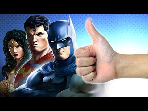 OS MELHORES GAMES DA DC COMICS!