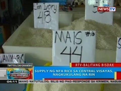 BP: Supply ng NFA rice sa Central Visayas, nagkukulang na rin