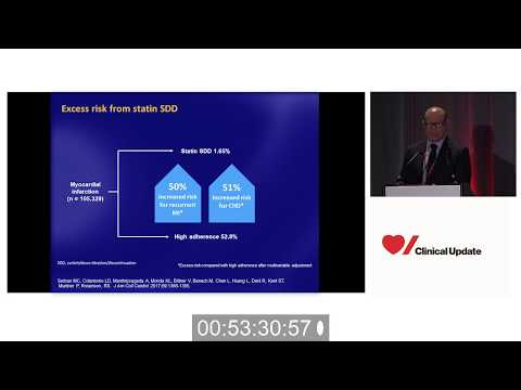 Optimizing Cholesterol - Statin Muscle Complaint (Dr. Robert Rosenson) Heart&Stroke Clinical Update