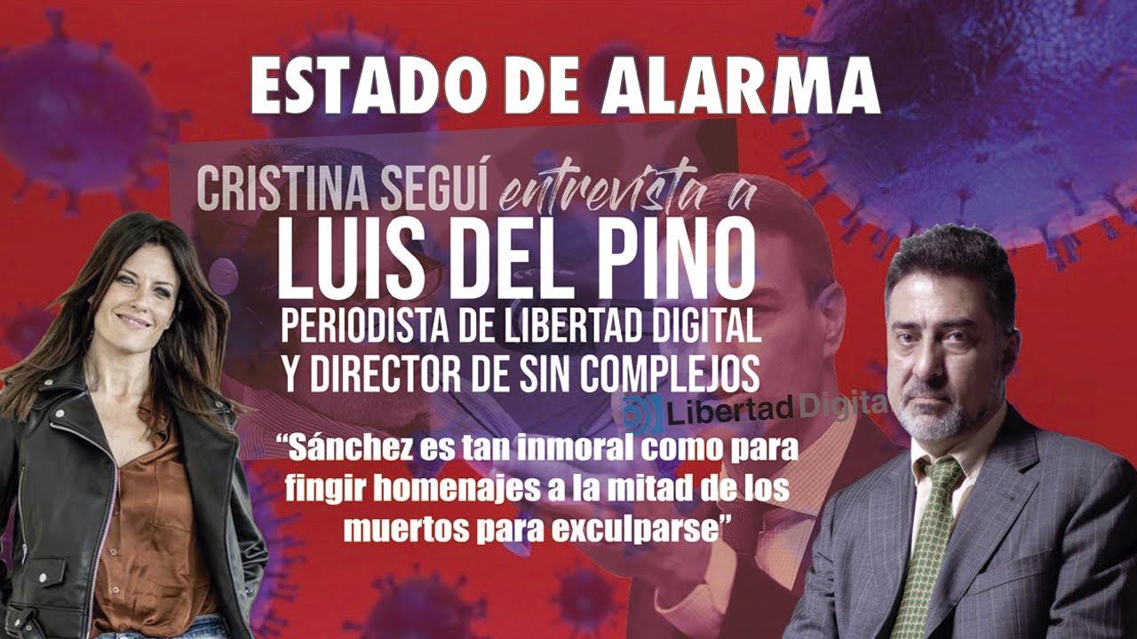 Entrevista exclusiva de Cristina Segui al gran LUIS DEL PINO de Esradio