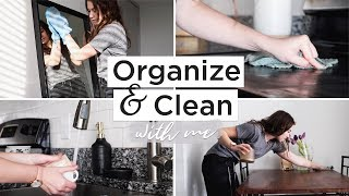 SPRING ORGANIZING & CLEANING ROUTINE | organize & deep clean with me