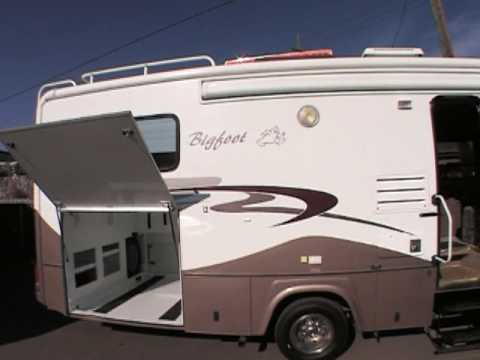 2006 BIGFOOT 30MH29G class c motorhome  YouTube
