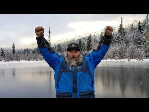 The 2017 - 2018 Ice Fishing season has begun in Whistler BC.