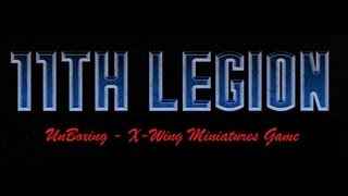 11th legion presents: X-Wing miniatures game Unboxing