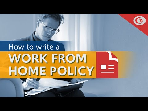 How to Write a Work From Home Policy (Free Template)   CurrentWare