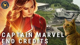 Captain Marvel End Credits Scenes: What Happens, and What They Mean
