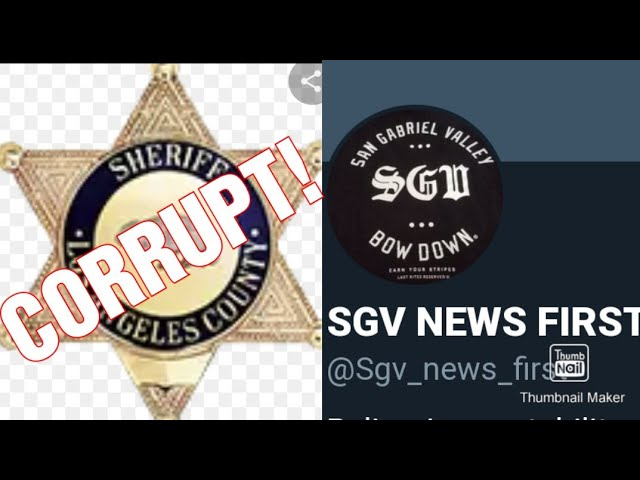 SGV ILLEGALLY ARRESTED! I PROTEST 4 FREEDOM!