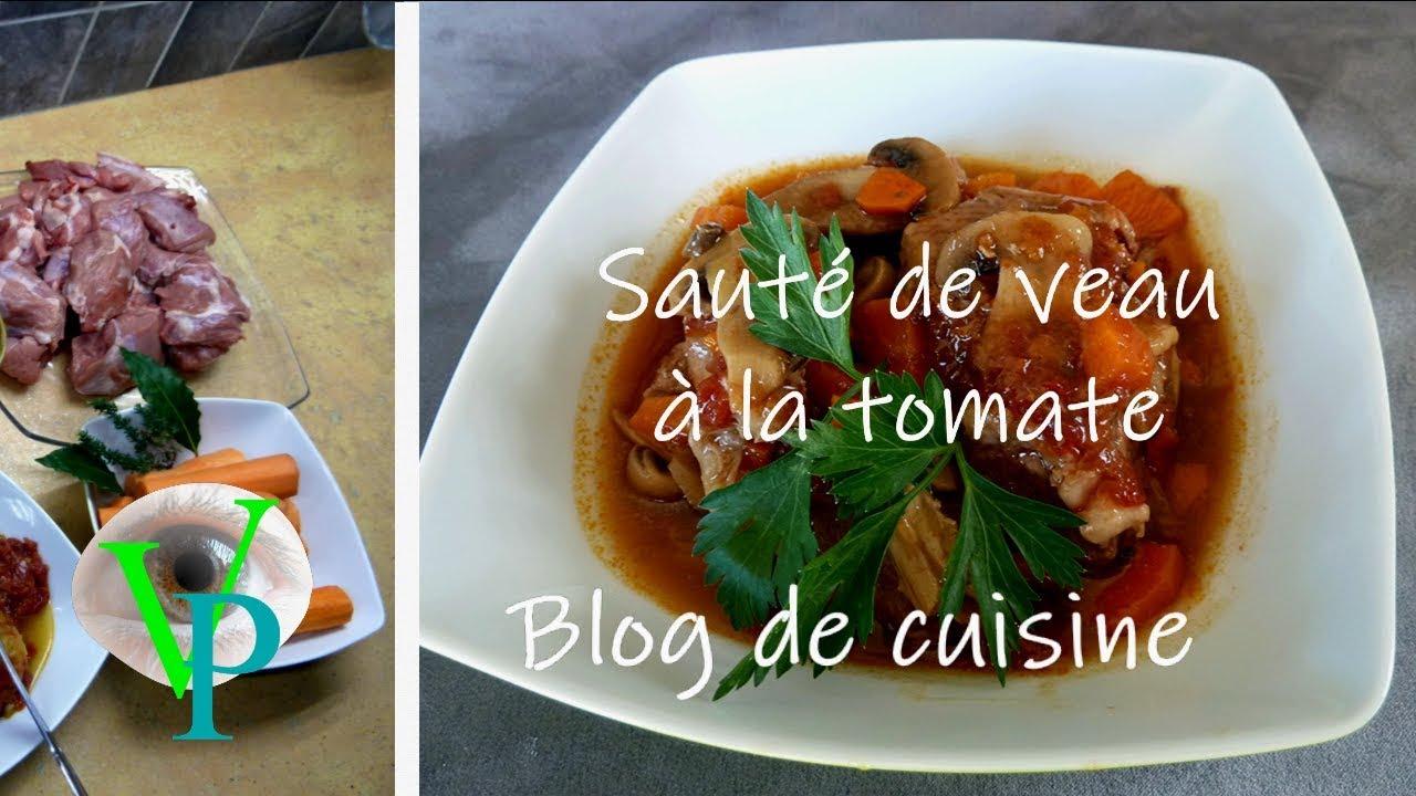 La recette de sauté de veau à la tomate