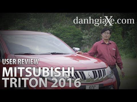Người dùng đánh giá xe Mitsubishi Triton 2016 | danhgiaXe.com