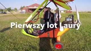 Lot Motolotnią – Pińczów video