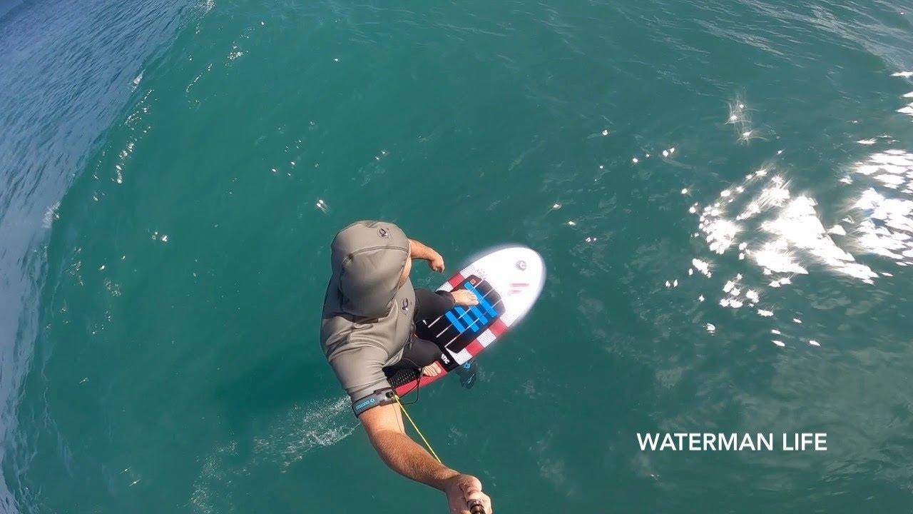 Le FOIL surfing,  une autre dimension