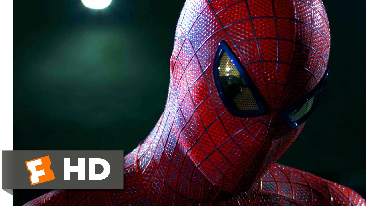 The Amazing Spider-Man – Taking Down the Car Thief Scene (3/10) | Movieclips