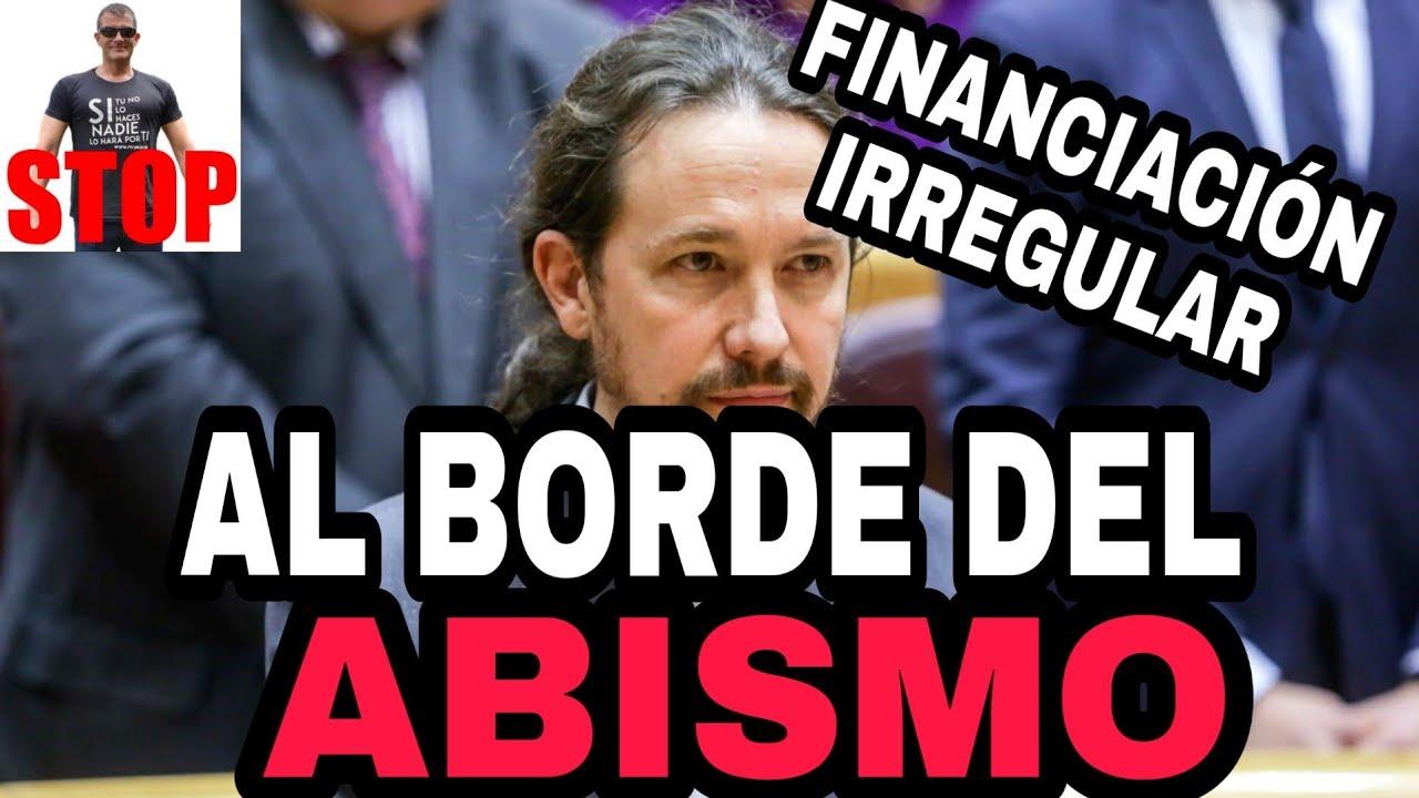EL TRIBUNAL DE CUENTAS CAZA A PABLO IGLESIAS. Podemos, FINANCIACIÓN IRREGULAR.