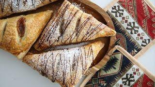 Շերտավոր Խմորով Ջեմով Թխվածք - Apricot Turnover - Heghineh Cooking Show in Armenian