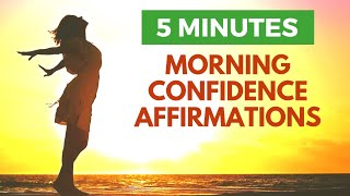 5 Minute Morning Affirmations for Confidence   21 Day Challenge