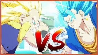 Dragon Ball FighterZ Versus Vegito vs Gotenks
