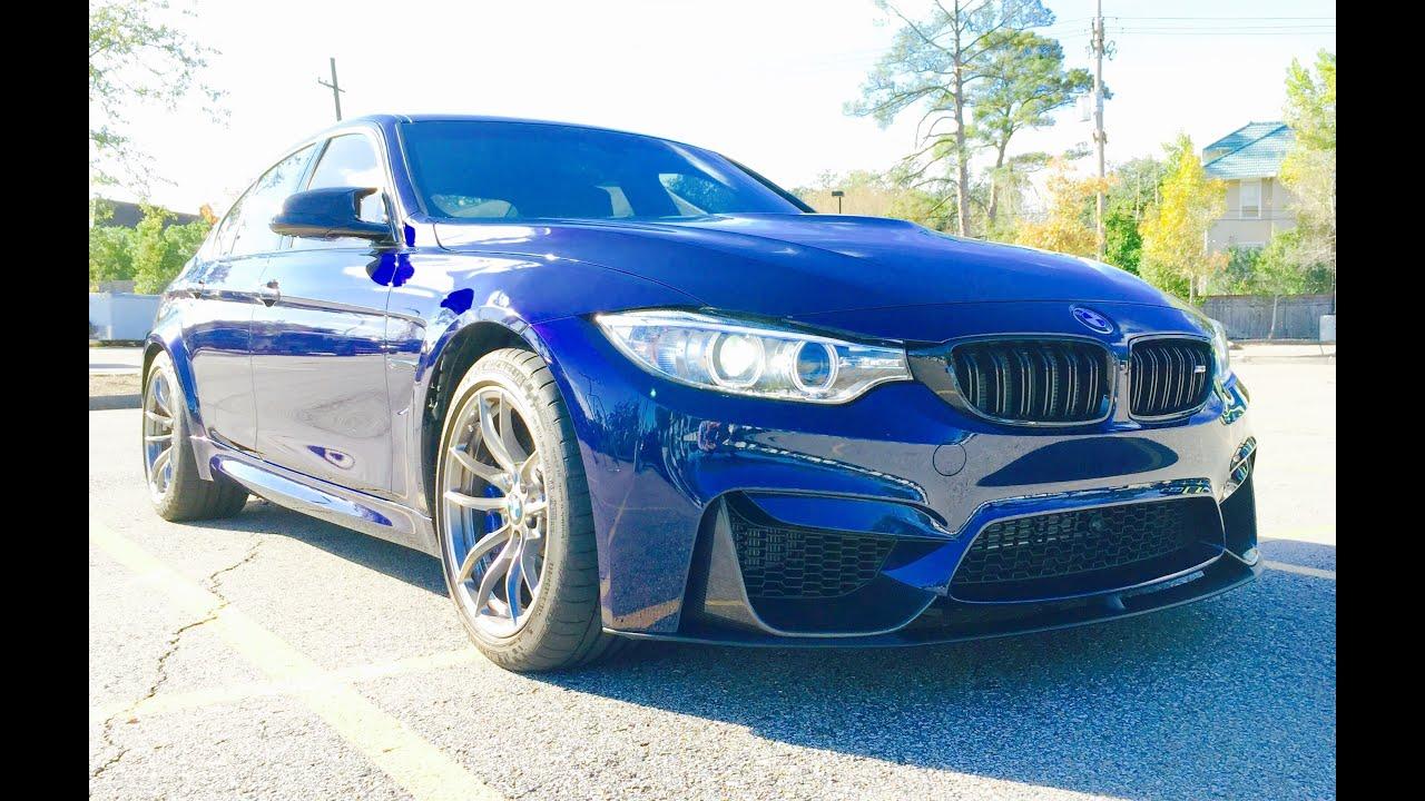 2016 bmw m3 sedan full review start up exhaust test drive plus bonuses youtube. Black Bedroom Furniture Sets. Home Design Ideas