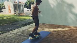 ezoon balanceboards - תרגילים למתחילים ומתקדמים על באלאנסבורד